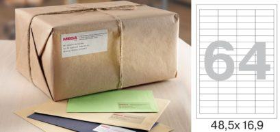 MEGA Label самоклеящиеся этикетки